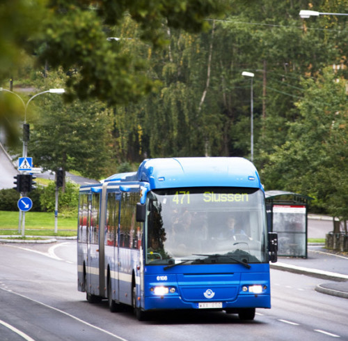 Biogasbuss