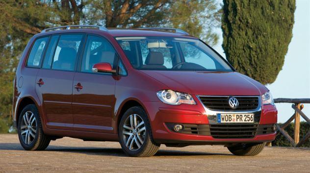 VW Touran Ecofuel. Foto: Volkswagen